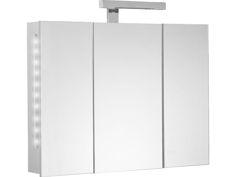 Armoire de toilette twilight 80 cm vente de allibert for Armoire salle de bain allibert