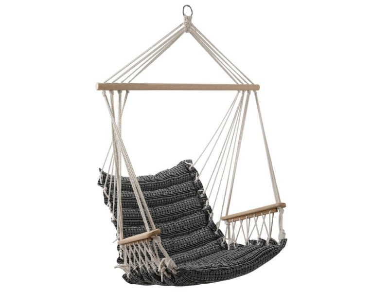 Chaise détente extérieur à suspendre jinja hespéride