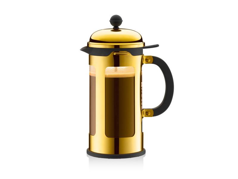 Bodum chambord® cafetière à piston, 8 tasses, 1.0 l, avec bec verseur 11172-17