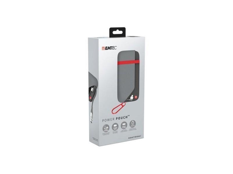 Chargeur power bank power pouch u500 emtec pour android/windows