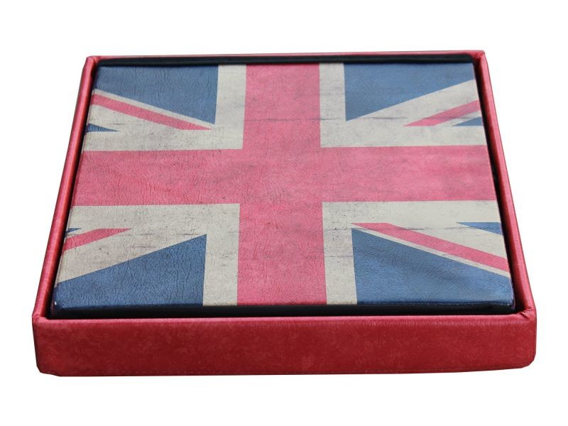 Pouf de rangement pvc coloris england - london p-10907-co possibility - Vente de COMFORIUM ...