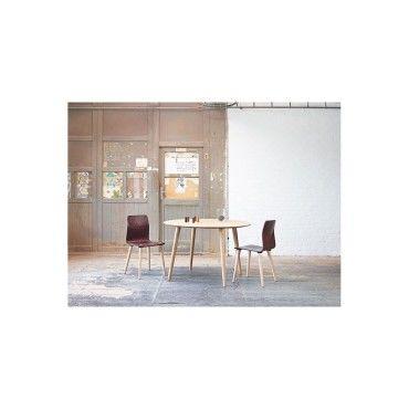 table ronde en h tre malmo scandinave vente de seanroyale conforama. Black Bedroom Furniture Sets. Home Design Ideas