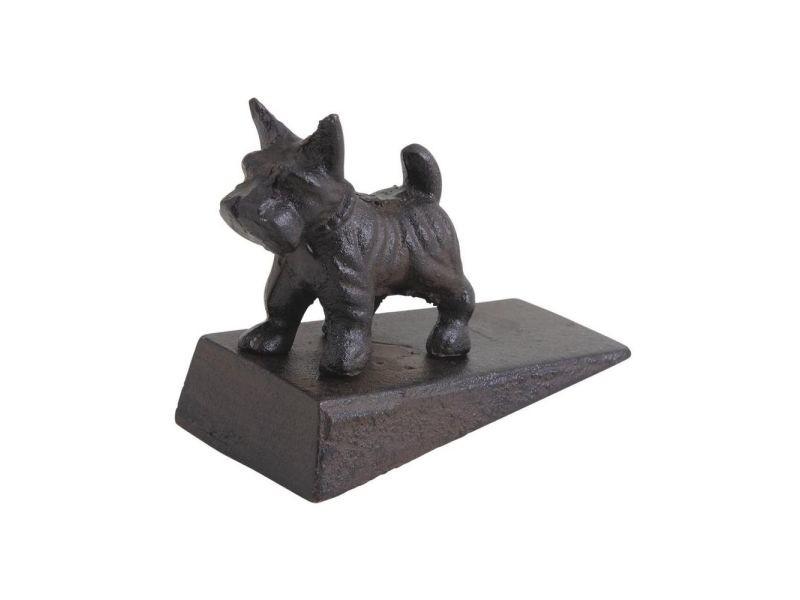 Stop porte petit chien en fonte