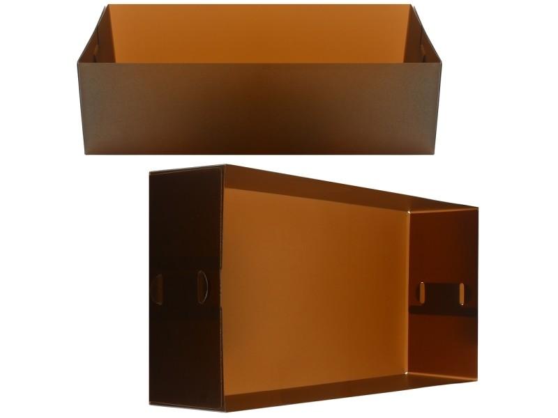 revendeur faec9 da5ca Boite de rangement casier pliable box pour tiroir etagère ...