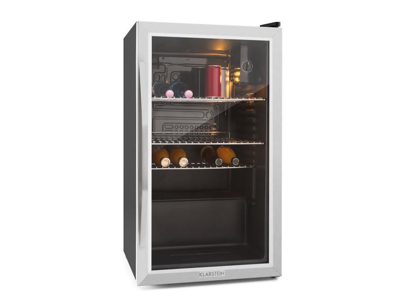 Klarstein beersafe xxl réfrigérateur compact 80 litres porte verre classe a+