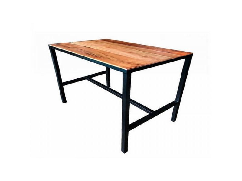 Atelier - table à manger 4 places en bois l110