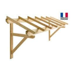 Jardipolys - auvent en bois 1 pan 310 x 100 cm