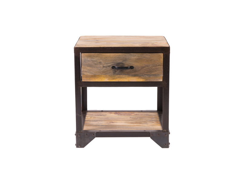 Table de chevet design industriel industria - Vente de Chevet ...