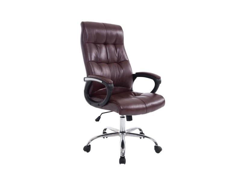 fauteuil chaise de bureau ergonomique hauteur r glable bordeaux bur10051 vente de fauteuil de. Black Bedroom Furniture Sets. Home Design Ideas