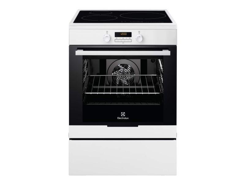 Cuisinière électrique a 73l 3 foyers induction blanc - eki6771tow eki6771tow