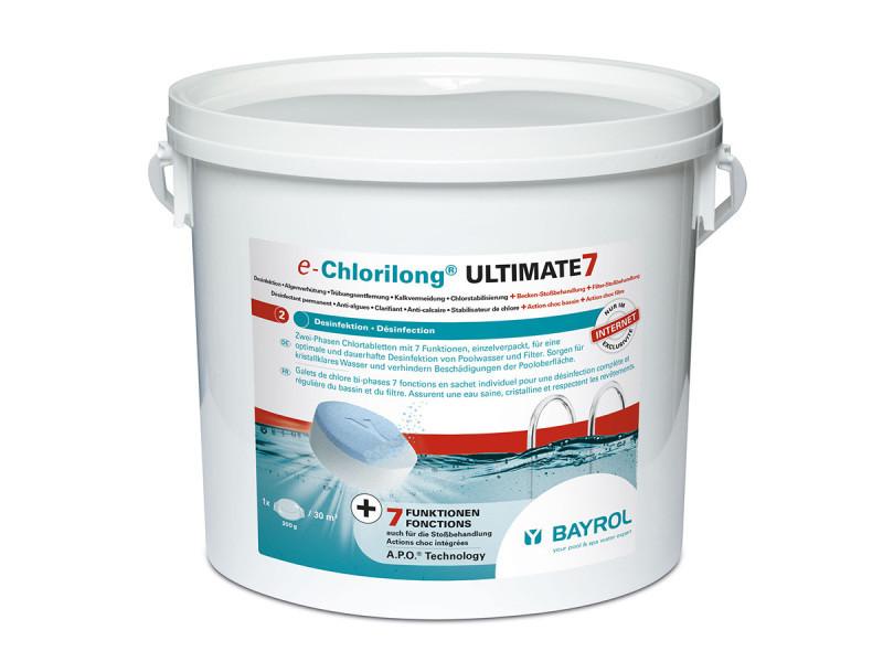 Chlorilong ultimate7 galet 300g bayrol - 4.8 kg