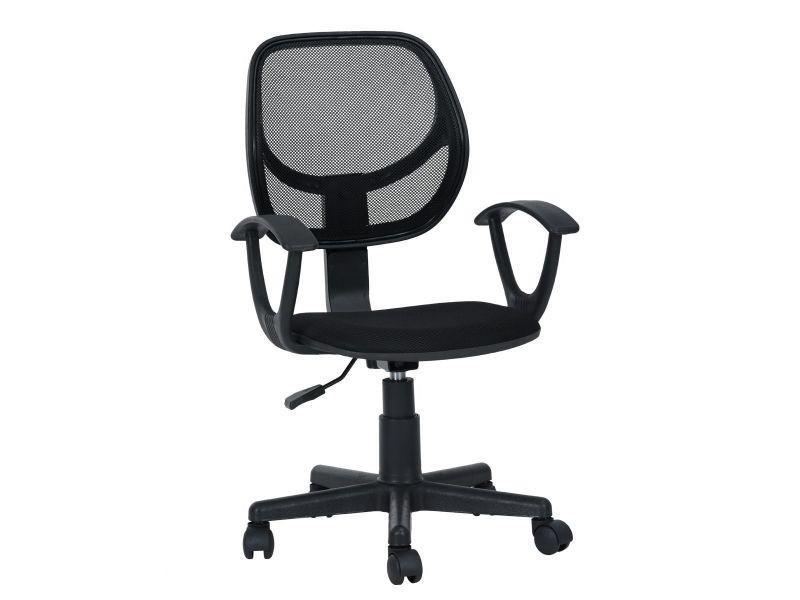 Alvina fauteuil de bureau noir vente de altobuy conforama