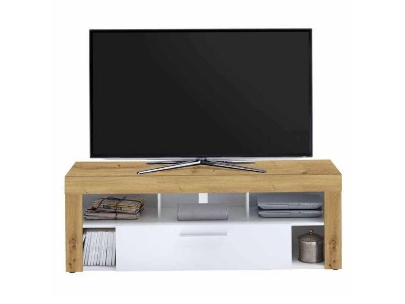 Paris prix - meuble tv 1 tiroir design \