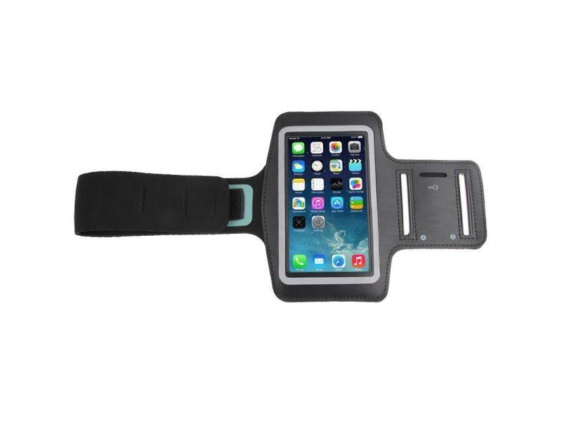 Brassard sport smartphone universel tour de bras protection étanche iphone noir - yonis