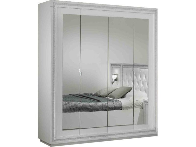 armoire conforama 4 portes armoire portes crystal coloris. Black Bedroom Furniture Sets. Home Design Ideas