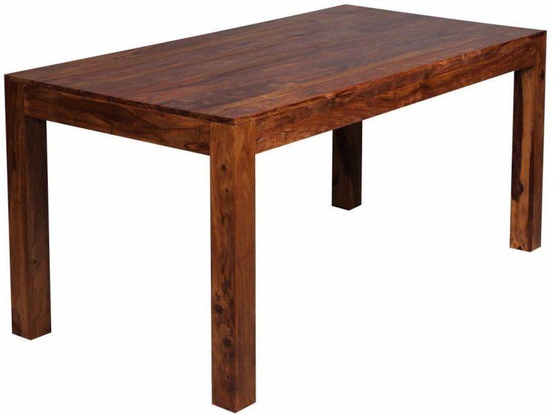 Manger 80 Cm Massif Sheesham Table 160 X En Bois À Coloris lcu13FKJT5