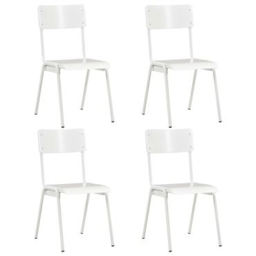 Stylé fauteuils et chaises edition mascate 4 pcs chaises à