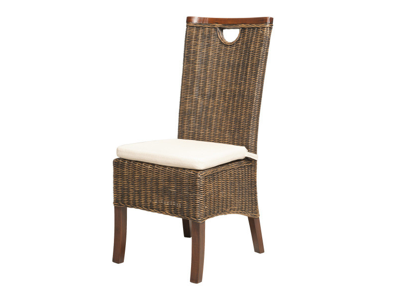 destockage 61 chaise racine moka en rotin vente de chaise conforama. Black Bedroom Furniture Sets. Home Design Ideas