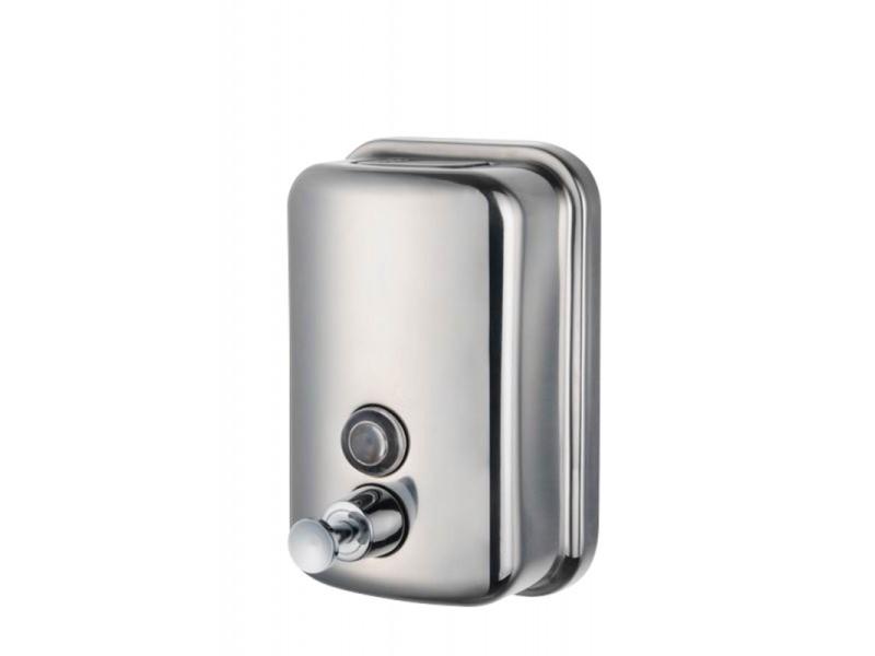 Distributeur de savon liquide en inox - stalgast - 60 cl