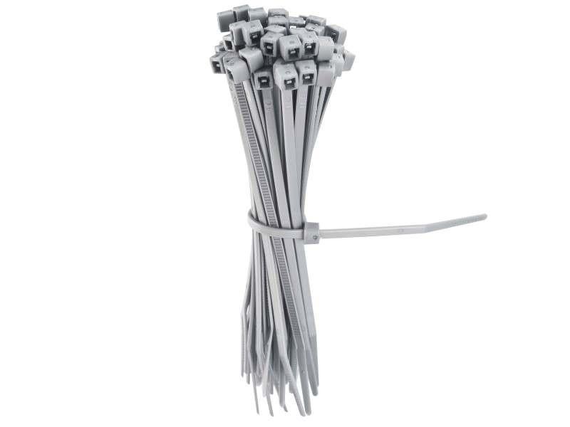 Occultants, clotûres lot de 50 liens gris en plastique pour la fixation de vos clôtures et grillage