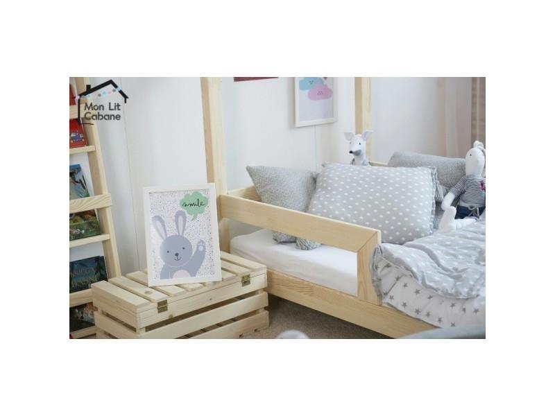 lit cabane cb 90x190 sommier vente de monlitcabane. Black Bedroom Furniture Sets. Home Design Ideas