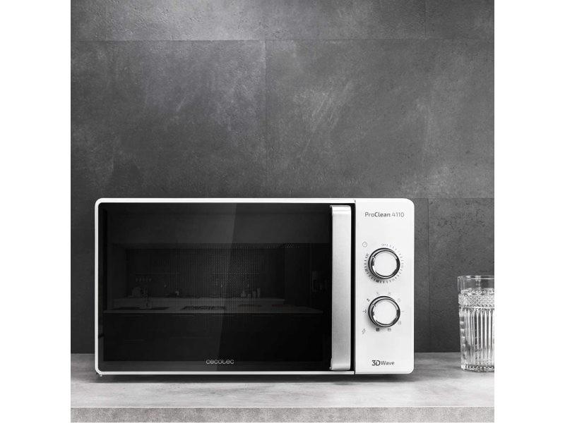 Micro ondes avec grill de 20l 700w et grill 800w noir blanc