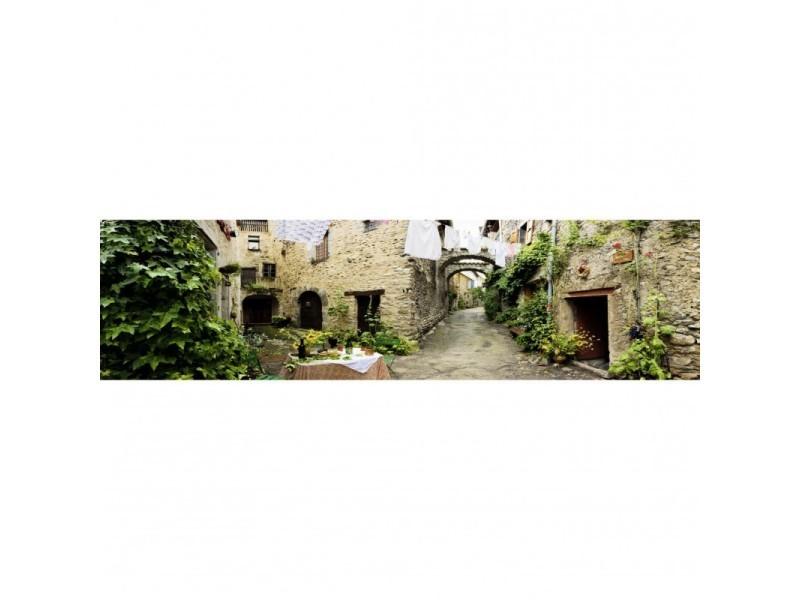 Brise vue 80% occultant chatillon 300 x 80 cm - décoration extérieure brise vent de jardin, balcon ou terrasse