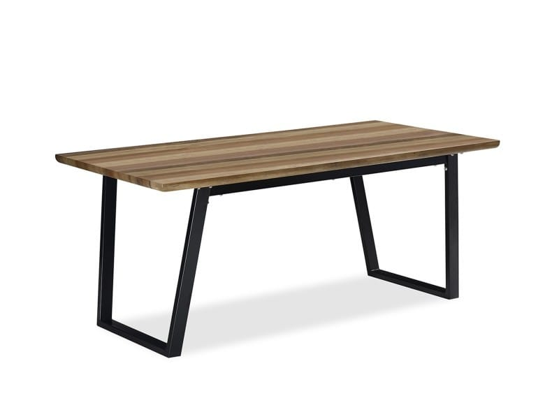 Table Kaliste Chene 6 A 8 Personnes Vente De Table Conforama