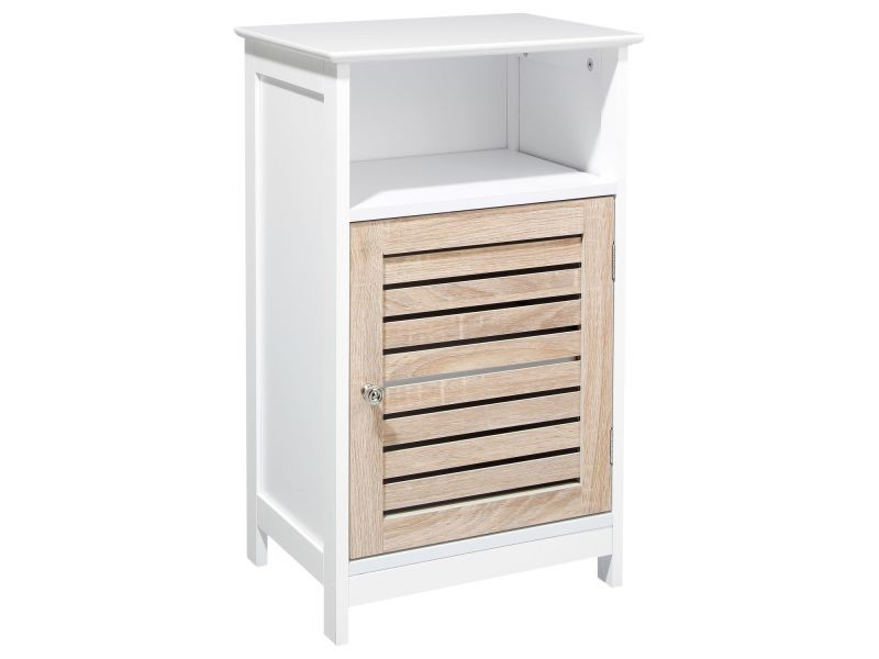 meuble de rangement bas bois blanc vente de meuble. Black Bedroom Furniture Sets. Home Design Ideas