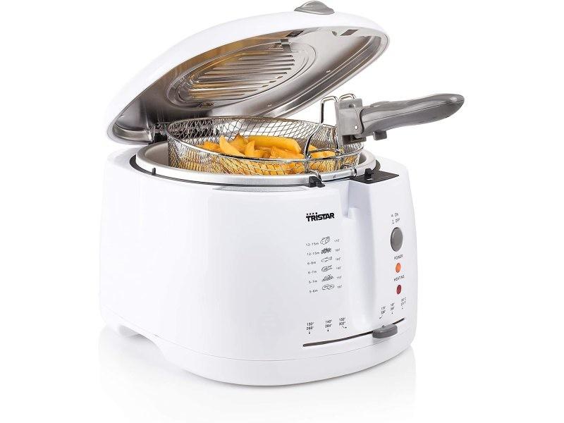 Friteuse électrique de 2,5l 1600w blanc FR-6904
