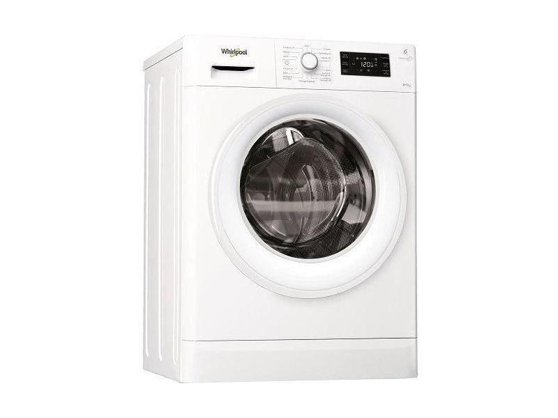Lave-linge séchant 8kg whirlpool 1400tr/min moteur induction 60cm a, whifwdg86148wf