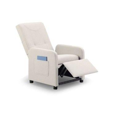 fauteuil relax pliable bristol tissu beige vente de fauteuil relaxation et releveur conforama. Black Bedroom Furniture Sets. Home Design Ideas