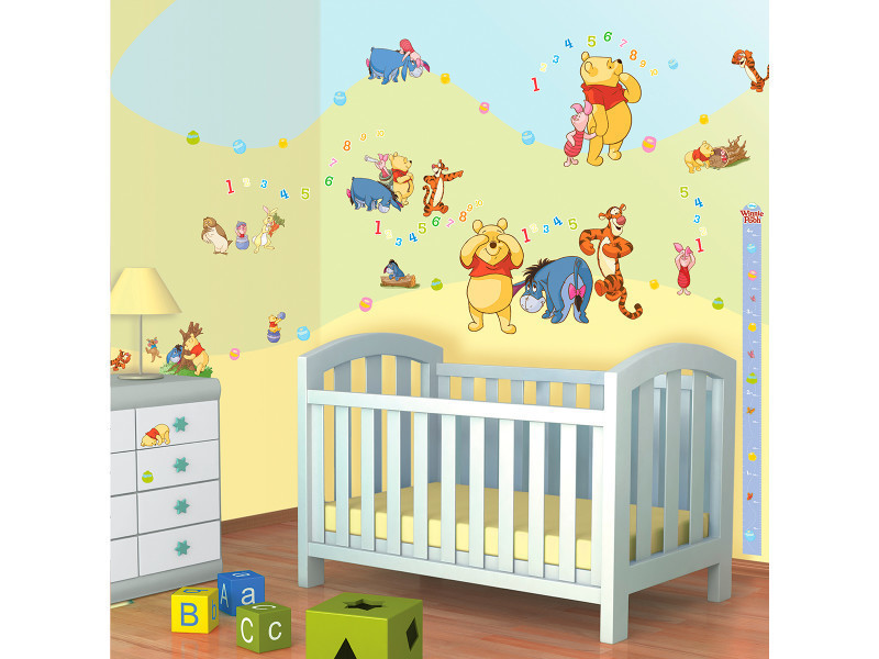 79 stickers winnie l\'ourson disney walltastic - Vente de ...