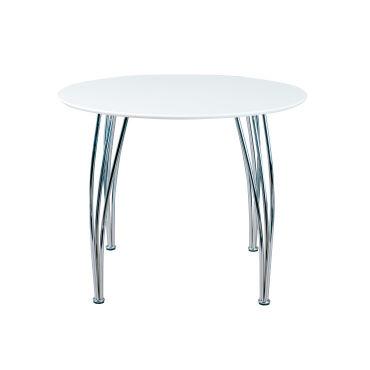 Table ronde meuble de cuisine salon salle manger moderne Table de salon moderne blanc