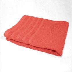 Serviette de toilette 50 x 90 cm rouge corail
