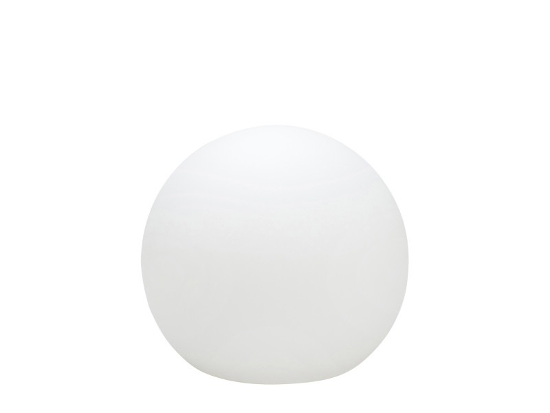 Boule lumineuse pearl (d25cm) en polyéthylène blanc