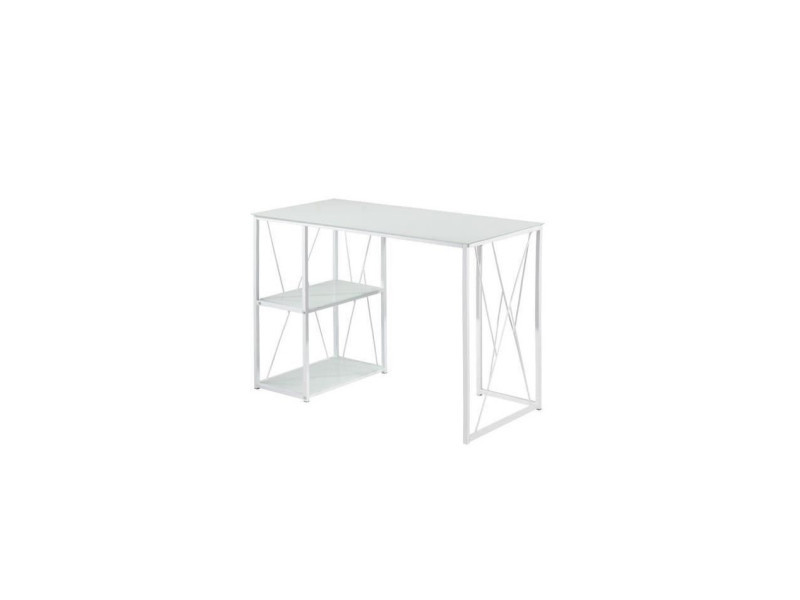 Informatique trempe verre rouge blanc bureau fly but dangle en
