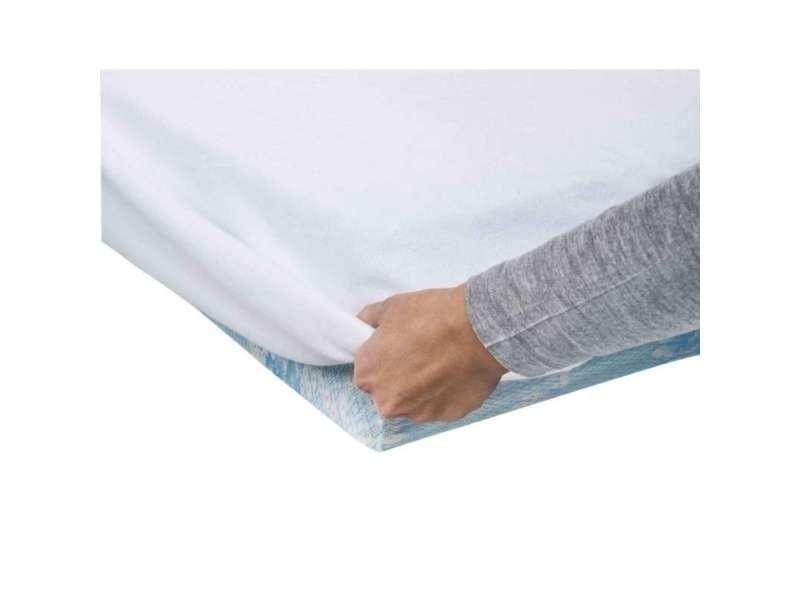 prot ge matelas imp rmeable 140x190cm vente de prot ge matelas et oreiller conforama. Black Bedroom Furniture Sets. Home Design Ideas