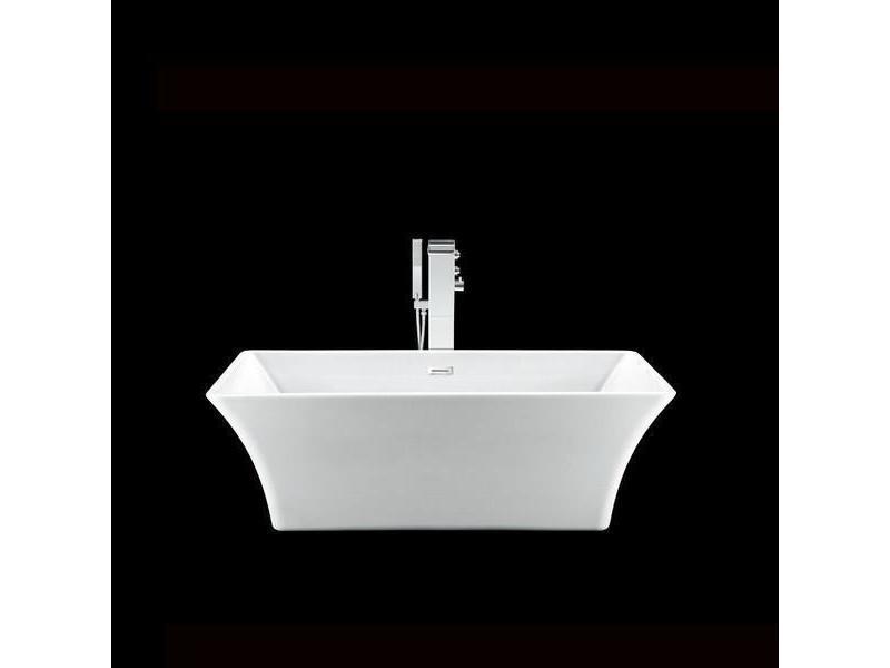 baignoire lot design rectangulaire chester blanche 169 cm. Black Bedroom Furniture Sets. Home Design Ideas