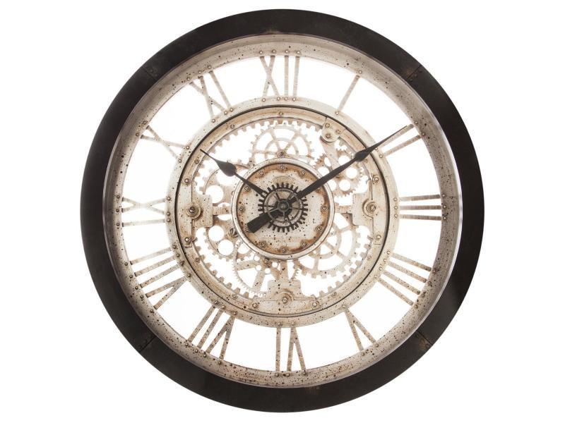 Horloge style mécanique 60 cm atmosphera