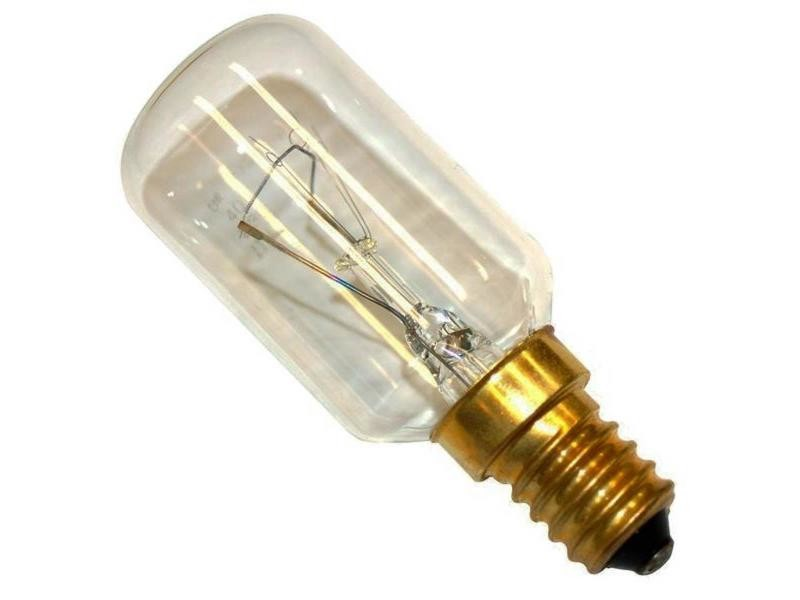 Ampoule 300° 40w 230-240v t29 four micro-ondes electrolux 484000008841, c00385586