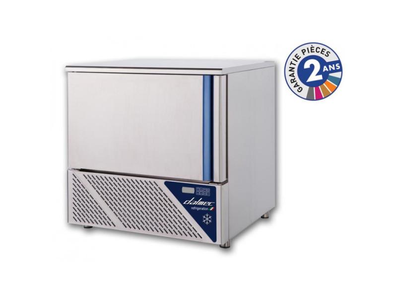 Cellule de refroidissement mixte +70/-18°c - 5 niveaux gn 1/1 ou 600 x 400 - dalmec - r452a de 0 à 5 niveaux