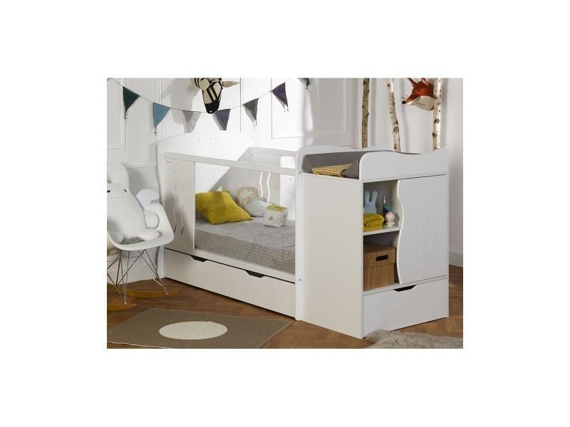 lit b b volutif belem vente de chambrekids conforama. Black Bedroom Furniture Sets. Home Design Ideas