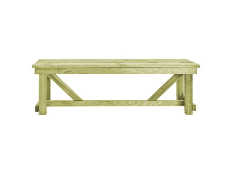 Icaverne - bancs d'extérieur gamme banc de jardin 140x38x45 cm bois fsc