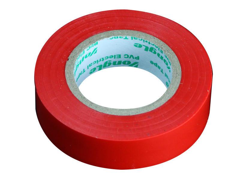 Rouleau adhésif 15mm x 10m rouge 240041