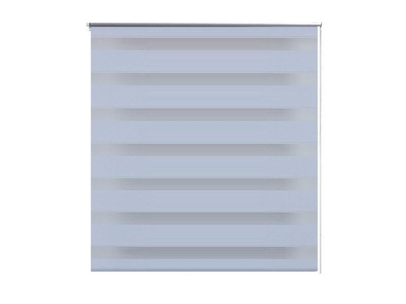 Store enrouleur blanc tamisant 60 x 120 cm fenêtre rideau pare-vue volet roulant helloshop26 4102084