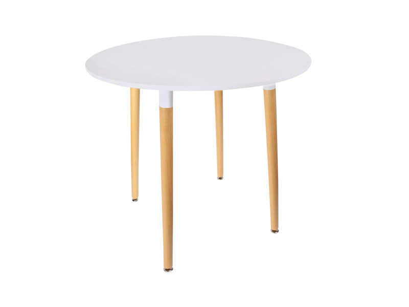 Table Ronde Scandinave Mobiliers Design Blanche Vente De Table