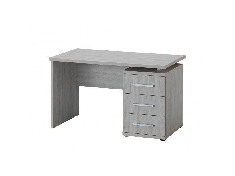 bureau enfant 130 cm monika l 130 x h 76 5 x p 70 cm ch ne gris vente de bureau conforama. Black Bedroom Furniture Sets. Home Design Ideas