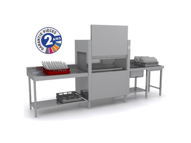 Lave-vaisselle à avancement automatique - lavage + rinçage - isy31101 -