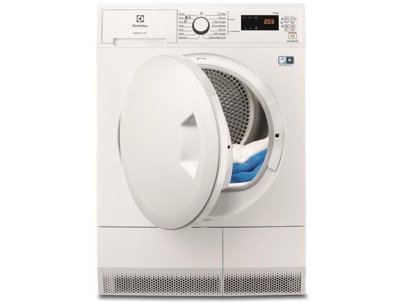 Sèche-linge pompe à chaleur avec condenseur 60cm 8kg a++ blanc - ew8h4812sc ew8h4812sc